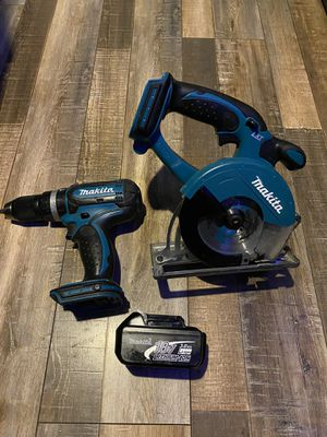 Skill saw and drill batterie for Sale in Los Angeles, CA