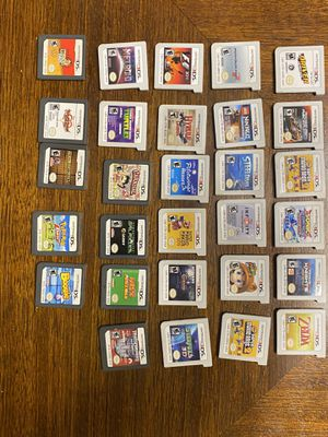 Nintendo 3DS with games for trade for Wii U games or better for Sale in Winter Haven, FL