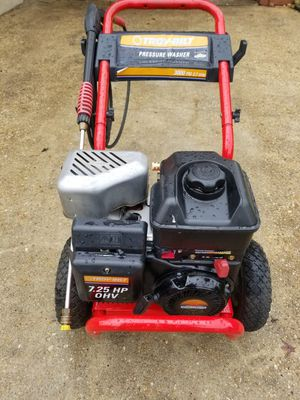 Troy-Bilt 3000 psi Pressure Washer for Sale in Hillcrest Heights, MD