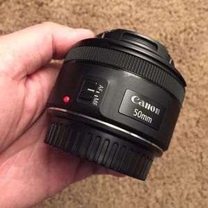 Canon 50mm f/1.8 STM lense for Sale in San Francisco, CA