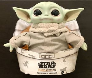 Star Wars The Mandalorian Child Baby Yoda 11 Inch Plush Toy for Sale in Chandler, AZ