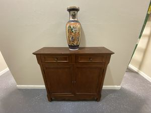 Wooden dresser console table for Sale in Portland, OR