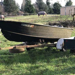 15'6 Aluminum Boat for Sale in Ridgefield, WA