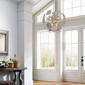 12-Light Modern Sputnik Chandelier Brushed Nickel with Bulbs for Sale in Plymouth, MA