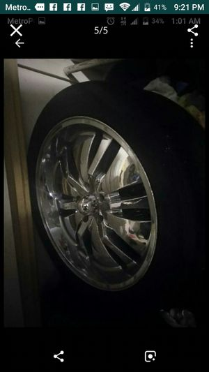 22' Chrome Rims for Sale in Washington, DC