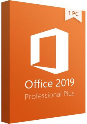 Microsoft Office Professional 2019 Professional Plus Genuine for Sale in Chicago, IL