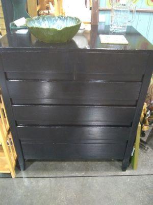 Jet black MCM DRESSER for Sale in Portland, OR