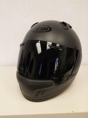 Aria Defiant X Gun Metallic Frost Metallic Motorcycle Helmet Size Large for Sale in Signal Hill, CA
