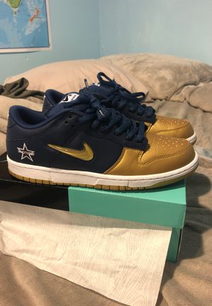 Nike sb dunk low Qs jewel supreme size 11 for Sale in Long Beach, CA