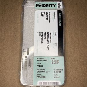 iPhone 8 Plus Plane Ticket Case for Sale in Snellville, GA