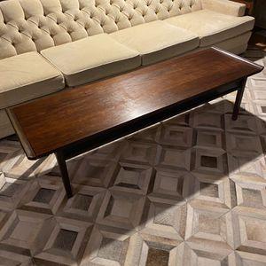 Mid century Walnut coffee table for Sale in Bremerton, WA