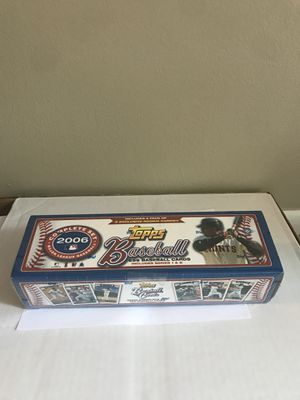 Topps 2006 Major League Baseball cards complete set series 1 & 2. for Sale in Columbus, OH