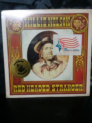 Willie Nelson record ( Red Headed Stranger) for Sale in Houston, TX