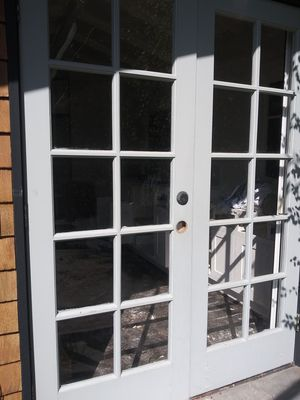 2 pair of french doors for Sale in Anaheim, CA