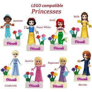 Minifigures Princesses works w Lego 8 ct Belle, Jasmine, Snow White etc Mini Figures for Sale in Claremont, CA