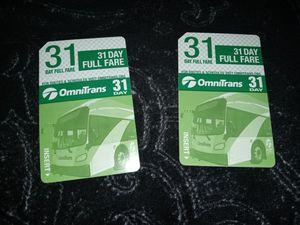 Bus passes for Sale in San Bernardino, CA