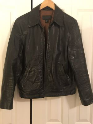 J. Crew Leather Jacket - Size S for Sale in Fairfax, VA