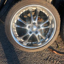 """Goodyear Tire & Rims Set Of 4 Size: 18"""" for Sale in Whittier,  CA"""