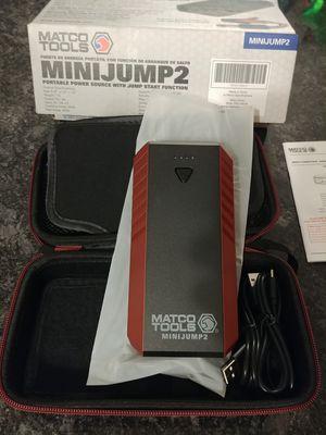 Matco tools mini jump 2 lithium ion portable jump starter for Sale in Romeoville, IL