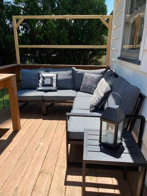 New Patio Furniture Sectional $599 no fire pit for Sale in Riverside, CA