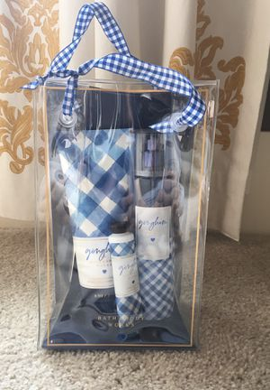 Bath and Body Works Gingham Collection for Sale in Renton, WA