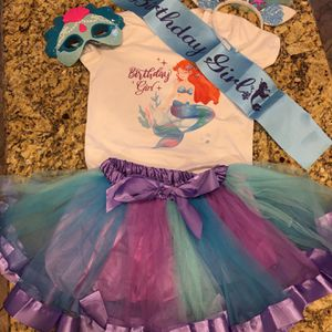 Mermaid Birthday Outfit for Sale in Avondale, AZ