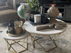 SELLING JUST THE NESTING TABLES -Saracina Home coffee tables for Sale in Houston, TX