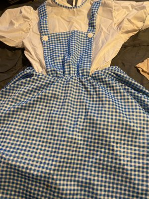 Adults Wizard of Oz Costume One Size Fits Most with Red Size 8 Shoes for Sale in Dallas, TX
