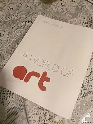 Henry M. Sayre, The World Of Art, 7th Edition for Sale in Detroit, MI