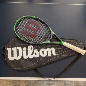 Wilson Adult Tennis Racket 4-1/2 & Bag for Sale in Pomona, CA
