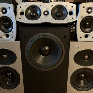 ENERGY and ATHENA Surround Sound Speakers for Sale in Las Vegas, NV