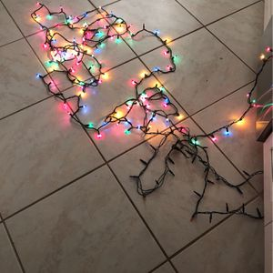 Free Indoor Christmas Lights for Sale in Corona, CA