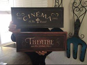 Cinema/Theatre Canvas Wall decor for Sale in Stockton, CA