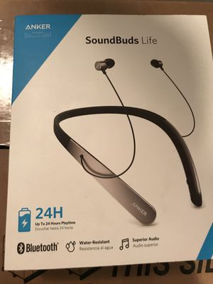Bluetooth soundbuds life by Anker for Sale in Millersville, MD
