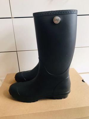UGG Black Rain Boots Size 10 for Sale in Edmonds, WA