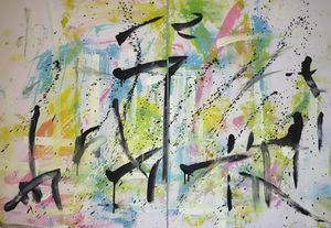 Abstract oil painting for Sale in Eugene, OR