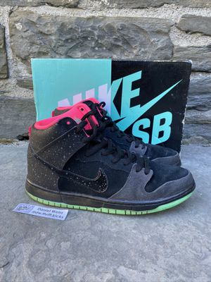 Nike SB Dunk High Northern Lights Solar Black Mens Size 10.5 for Sale in Ithaca, NY