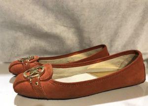 Orange Women's Michael Kors Suede Flat Shoes for Sale in Artesia, CA