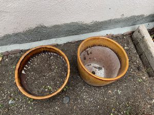 Five beautiful plant pots for Sale in Anaheim, CA