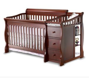Crib with changing table for Sale in Silver Spring, MD