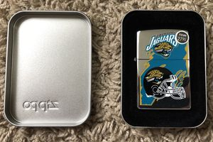 Jaguars Zippo for Sale in Clinton Township, MI