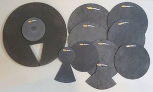 Large Set of Drum Mute Practice Pad Mufflers. for Sale in Portland, OR