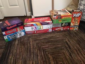Board games - ALL pieces included for Sale in Clinton Township, MI