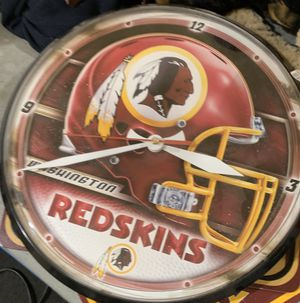 Redskins clock for Sale in Levittown, NY