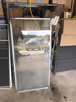 Antique frosted glass door panel for Sale in Slovan, PA