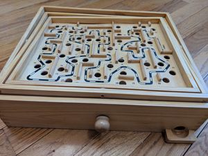 Wood Labyrinth Table Maze / Balance Board for Sale, used for sale  Franklin Township, NJ