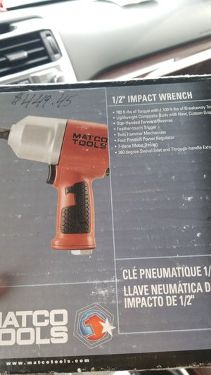 1/2 Inch Impact wrench for Sale in Dundalk, MD