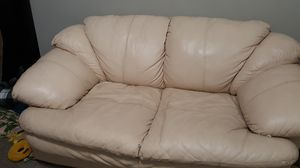 FREE White Leather Couches for Sale in Phoenix, AZ