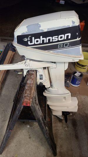 Johnson 8hp 2 stroke outboard for Sale in Seattle, WA