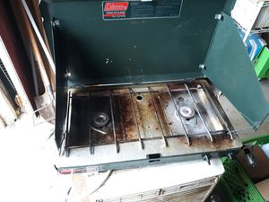 Coleman double burner camp stove for Sale in Stephenson, VA